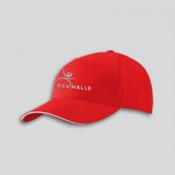Cap Rot/Weiß incl. Vereinslogo