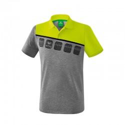 5-C Poloshirt grau...